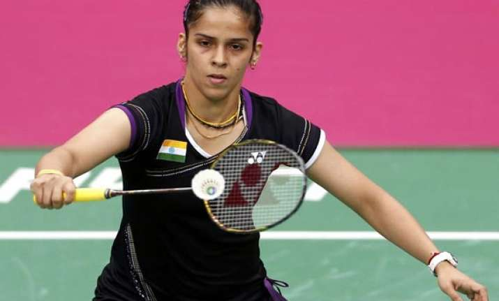 saina s golden chance to win medal at worlds