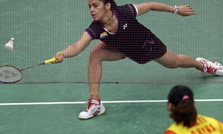 saina runs out of steam against li