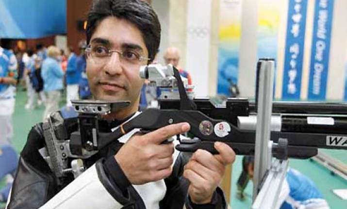 shooter bindra qualifies for london olympics