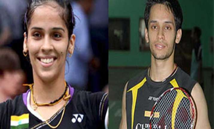 shuttlers kashyap saina named india captains
