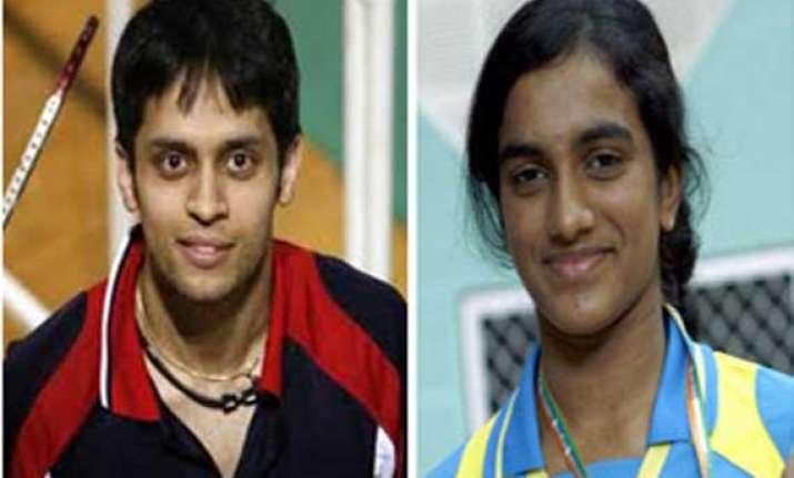 sindhu kashyap win in badminton asia championships