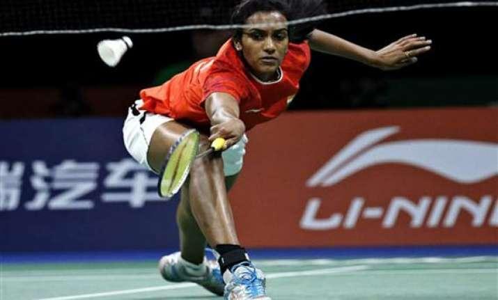sindhu creates history enters semis at badminton world