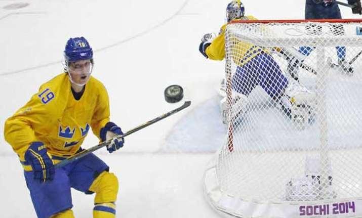 sochi olympics sweden s hockey player backstrom fails