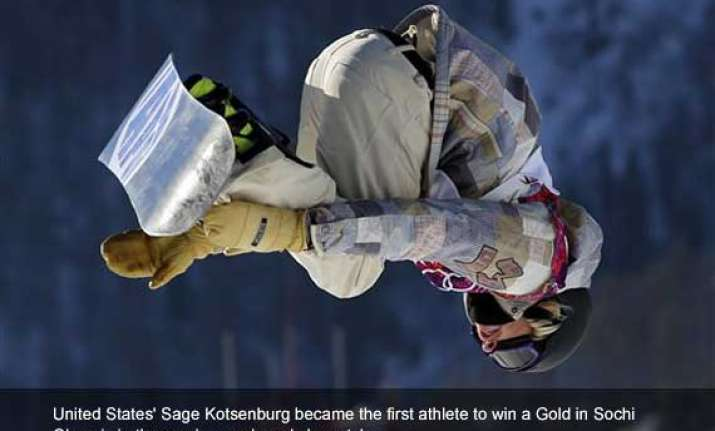 sochi s 1st gold kotsenburg of us wins slopestyle