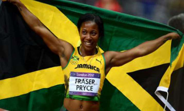 superwoman shelly wins historic sprint double with 200m