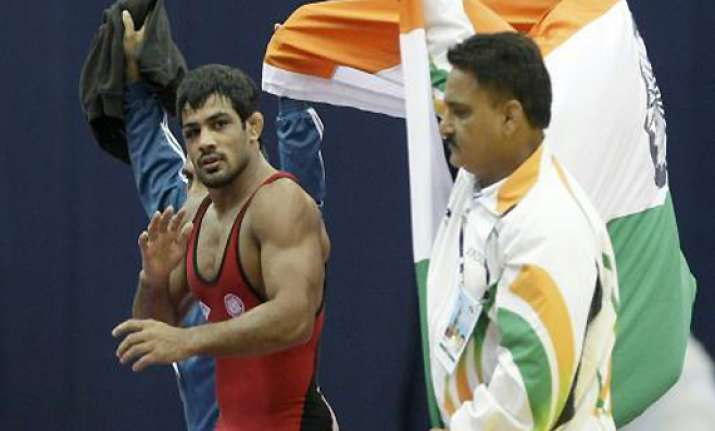 sushil qualifies for london olympics