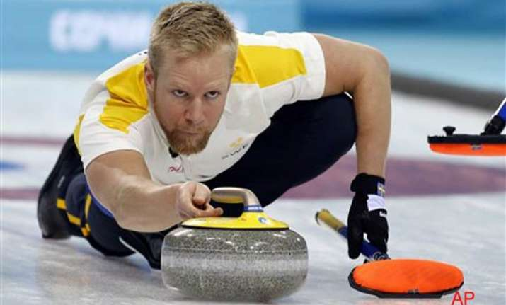sweden beat canada 3 0 in men s curling at sochi olympics