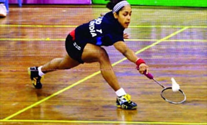 swiss international shuttler tanvi falters in final