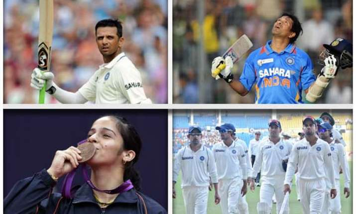 ten brightest and sad moments for indian sports in 2012