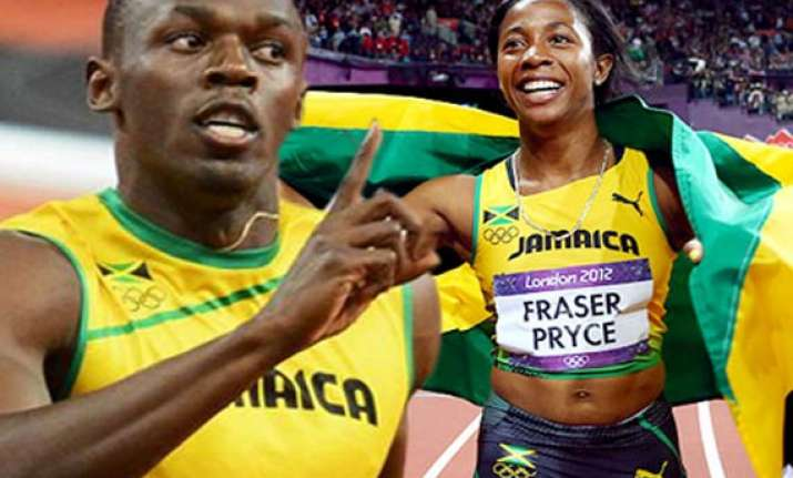 usain bolt and fraser pryce nominated for the prestigious