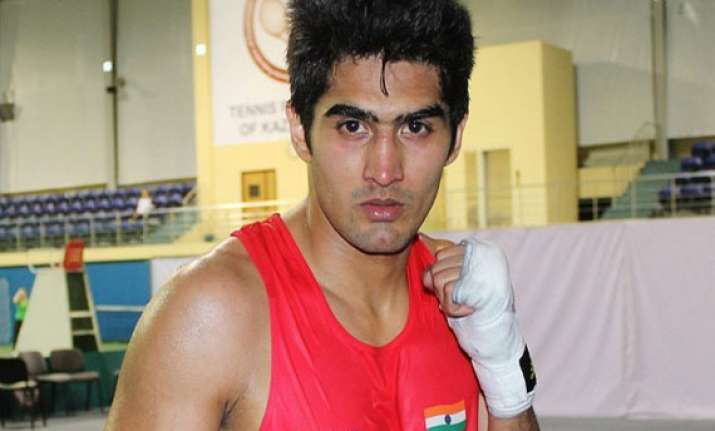 vijender willing to set up boxing academy in hyderabad