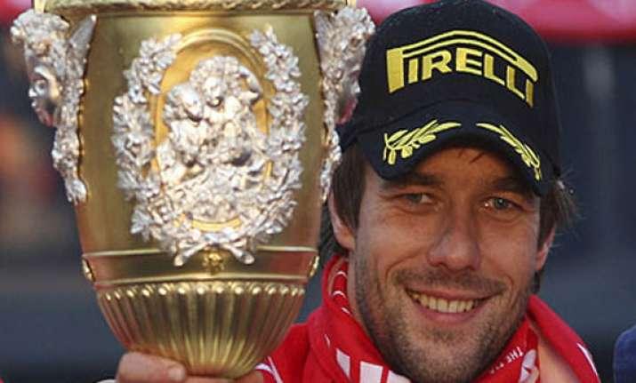 wrc champion loeb wins in spain