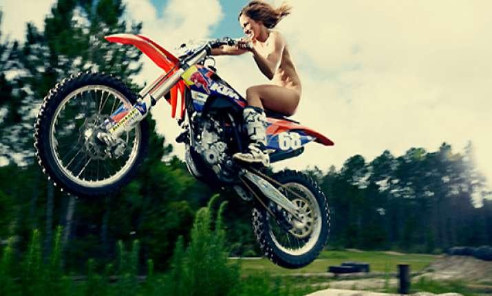 watch hot pics of tarah gieger a female motocross racer