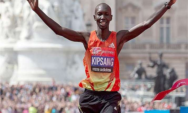 wilson kipsang hopes to beat world marathon record in london