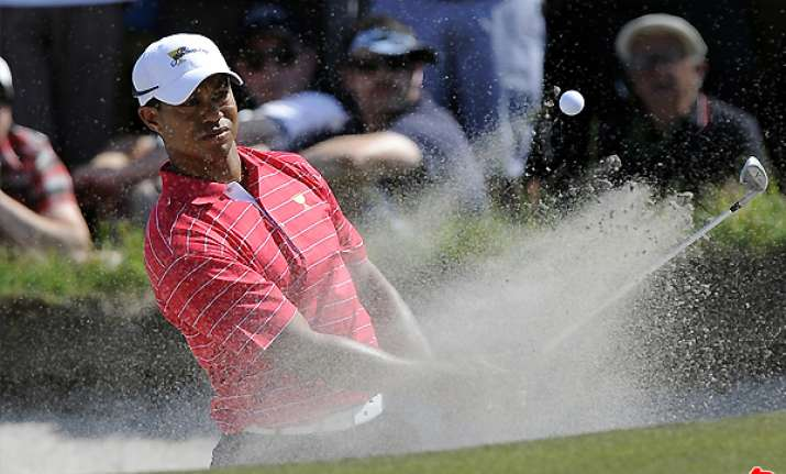 woods without a point as american keep the lead