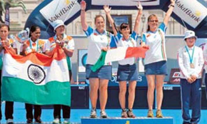 world archery indian women lose in final settle for silver