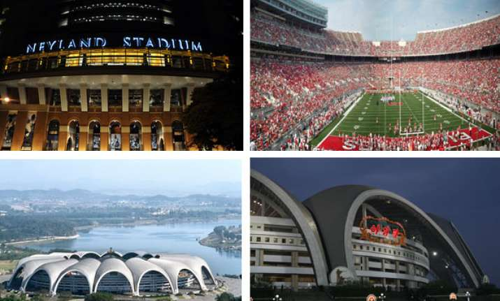 world s 10 largest sports stadiums