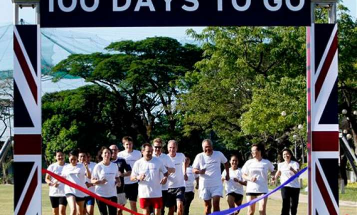 100 day countdown begins for london olympics