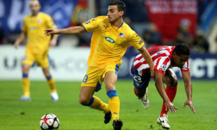 apoel looks to make history in champions league