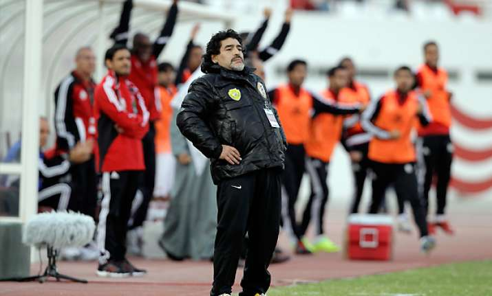 aim is to keep maradona happy says al wasl chairman
