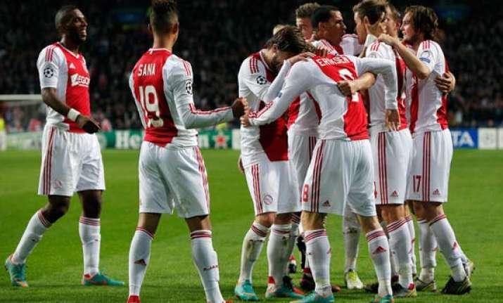 ajax maintain dutch league lead amid draw at utrecht