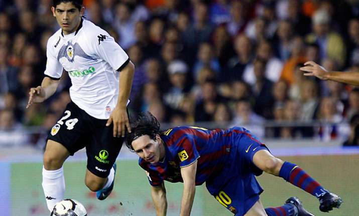 ankle injury ends banega s season for valencia