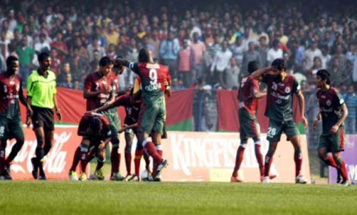 another derby for mohun bagan