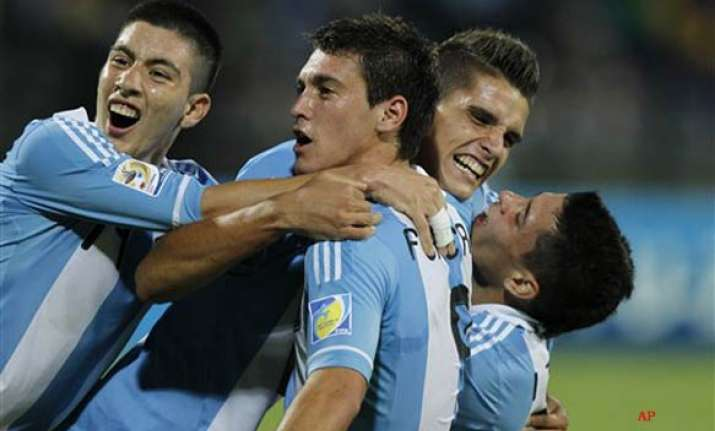 argentina starts with victory brazil draws