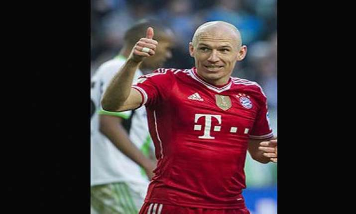 arjen robben to extend contract with bayern.