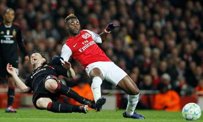 arsenal s comeback falls 1 goal short versus milan