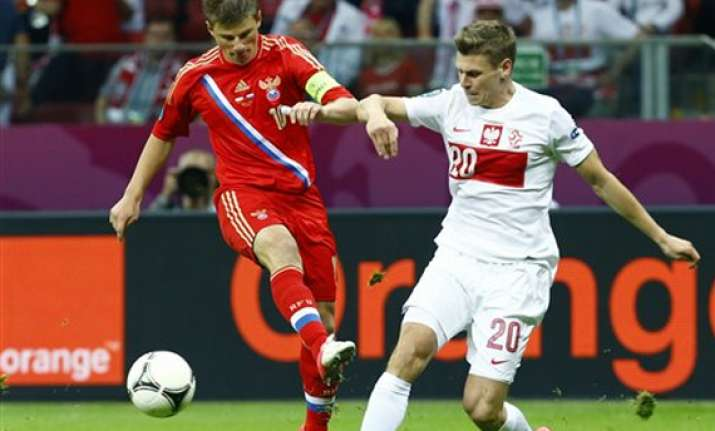 arshavin fails to spark russia attack at euro 2012