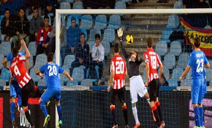 athletic bilbao beats getafe 1 0 in spanish league