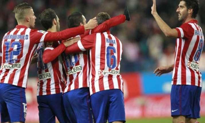 atletico madrid go top of la liga after win over sociedad