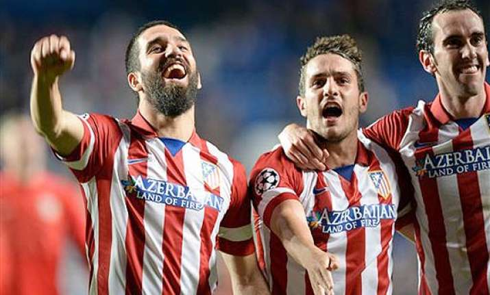 atletico madrid closes in on 1st league title in 18 years