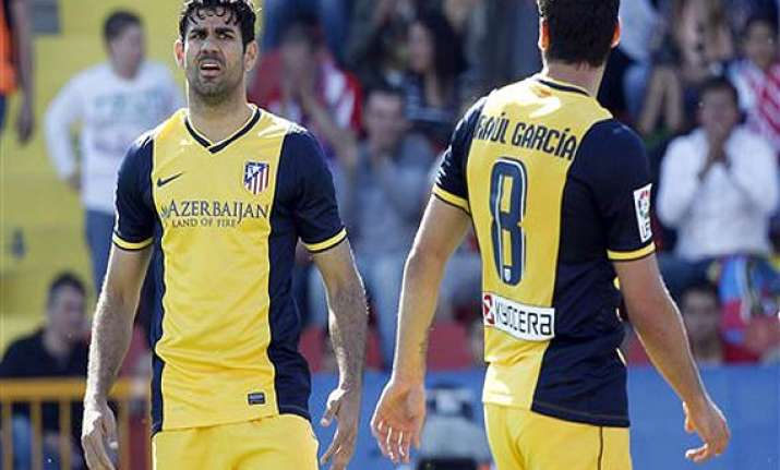 atletico madrid s diego costa could miss malaga game