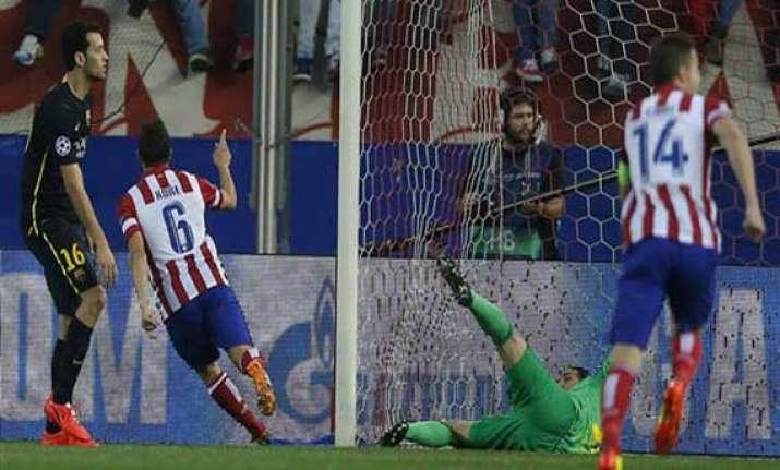 atletico beats barcelona to reach champions semis