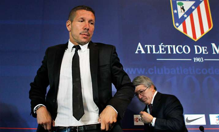 atletico s simeone upbeat after debut draw