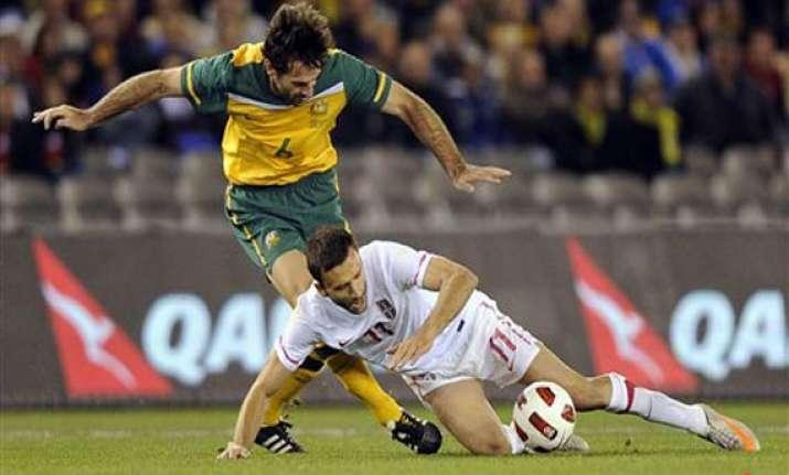 australia serbia locked in goalless draw in friendly