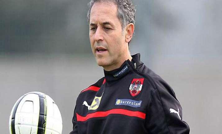 austria coach koller extends contract to 2015