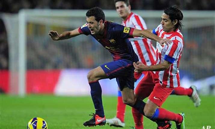 barcelona madrid head champions league last 16