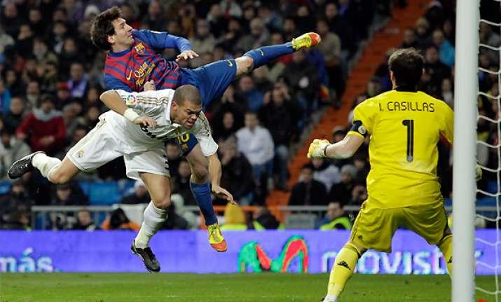 barcelona win 3 1 at madrid in clasico