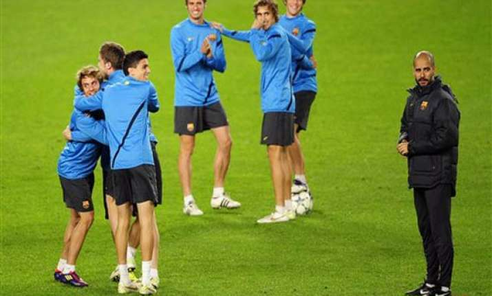 barcelona s youth to get test against bate