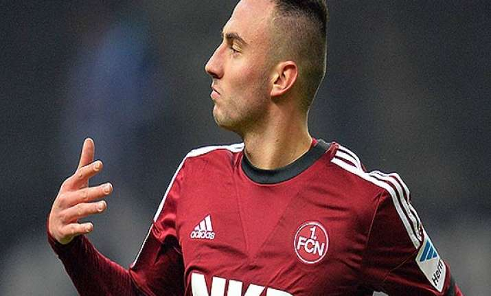 bayer leverkusen signs nuremberg striker josip drmic
