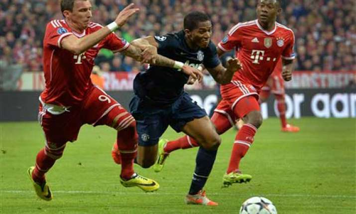 bayern beats united 3 1 to reach champions semis