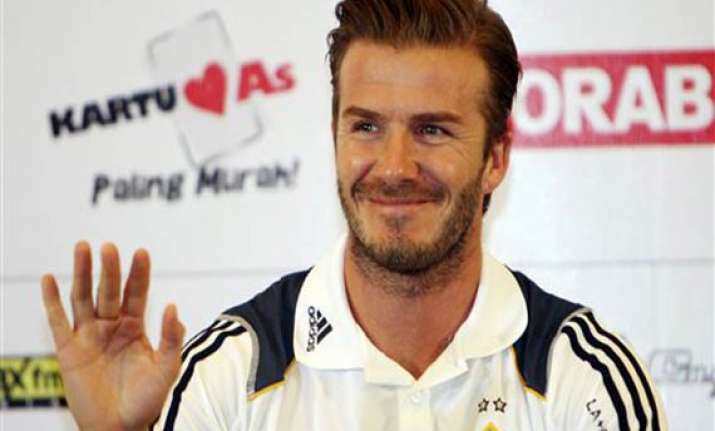 beckham galaxy in possible farewell tour