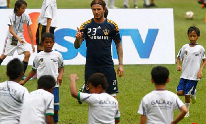 beckham praises indonesia after galaxy 1 0 win