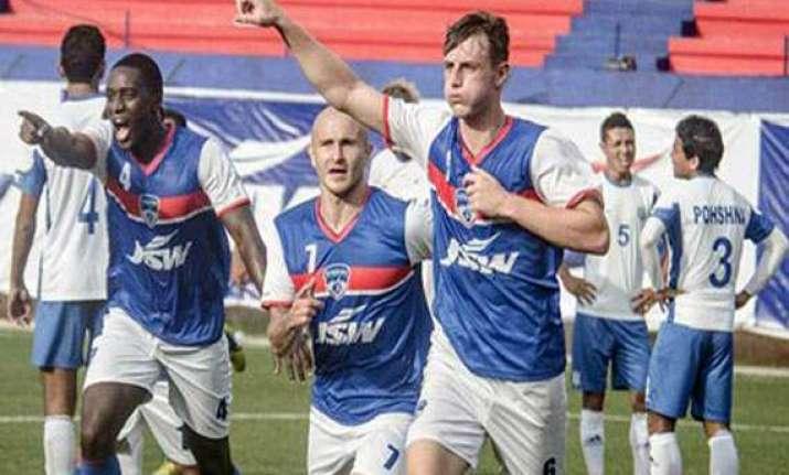 bengaluru fc on the verge of scripting i league history
