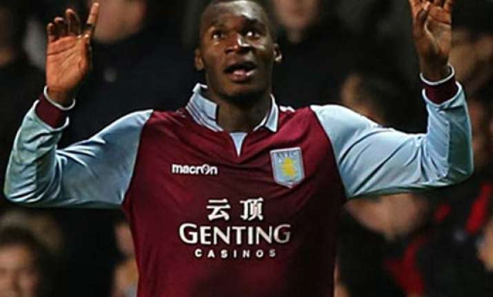 benteke strikes as villa beats reading 1 0 in epl