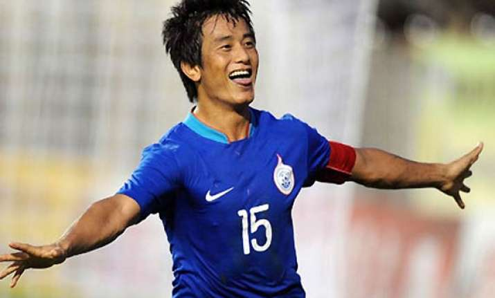 bhaichung bhutia omitted from india probables
