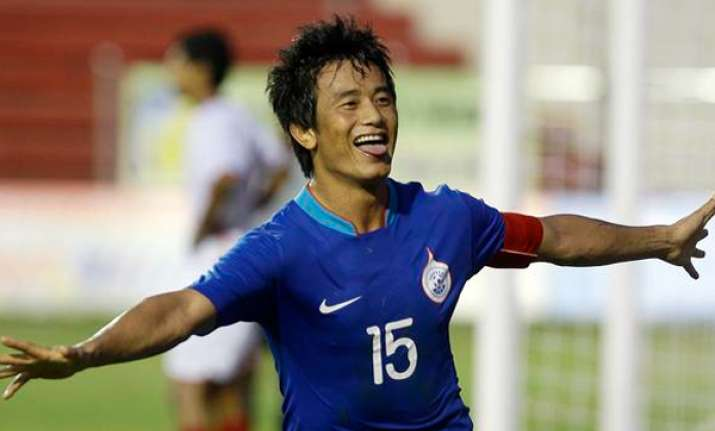 bhaichung bhutia retires from international football